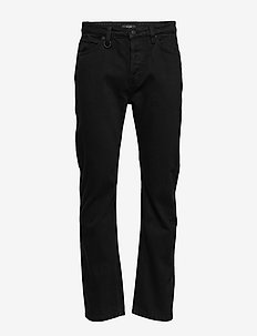 REID BAGGY - relaxed jeans - zero-black hole