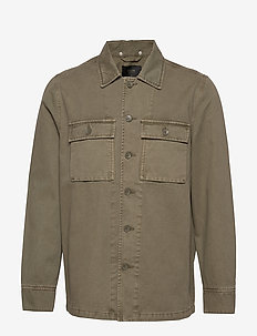 SURPLUS OVERSHIRT - basic skjortor - military