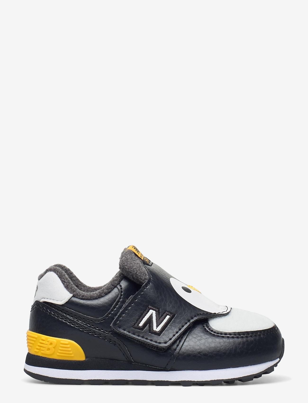New Balance - IV574AQP - baskets basses - black/yellow - 1