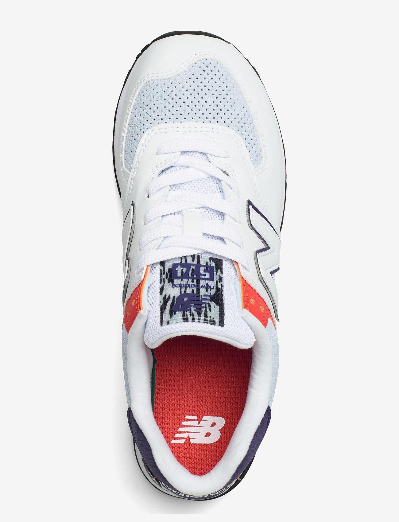 New Balance - WL574CS2 - low top sneakers - white - 3