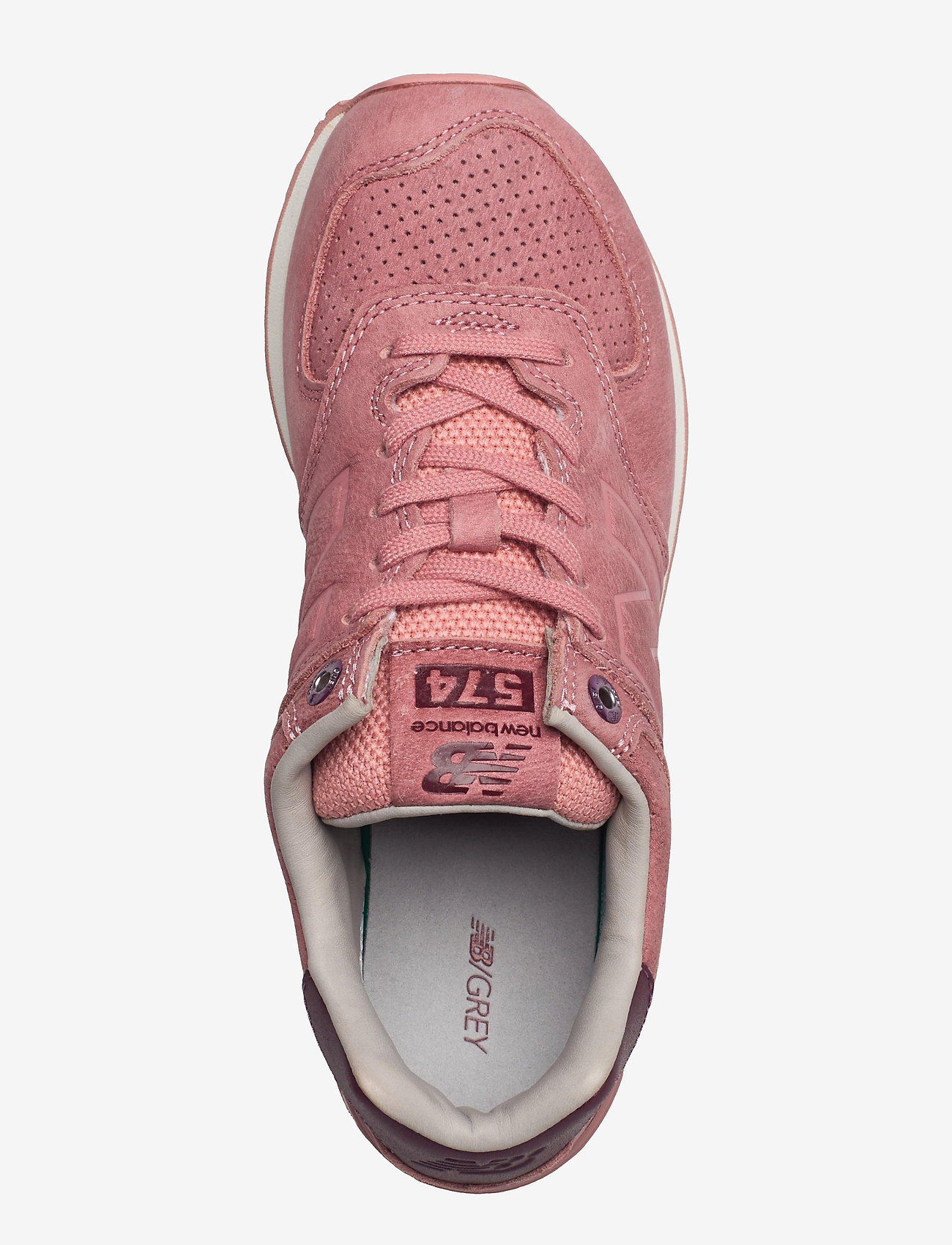 New Balance - WL574GRY - low top sneakers - dusted peach - 3