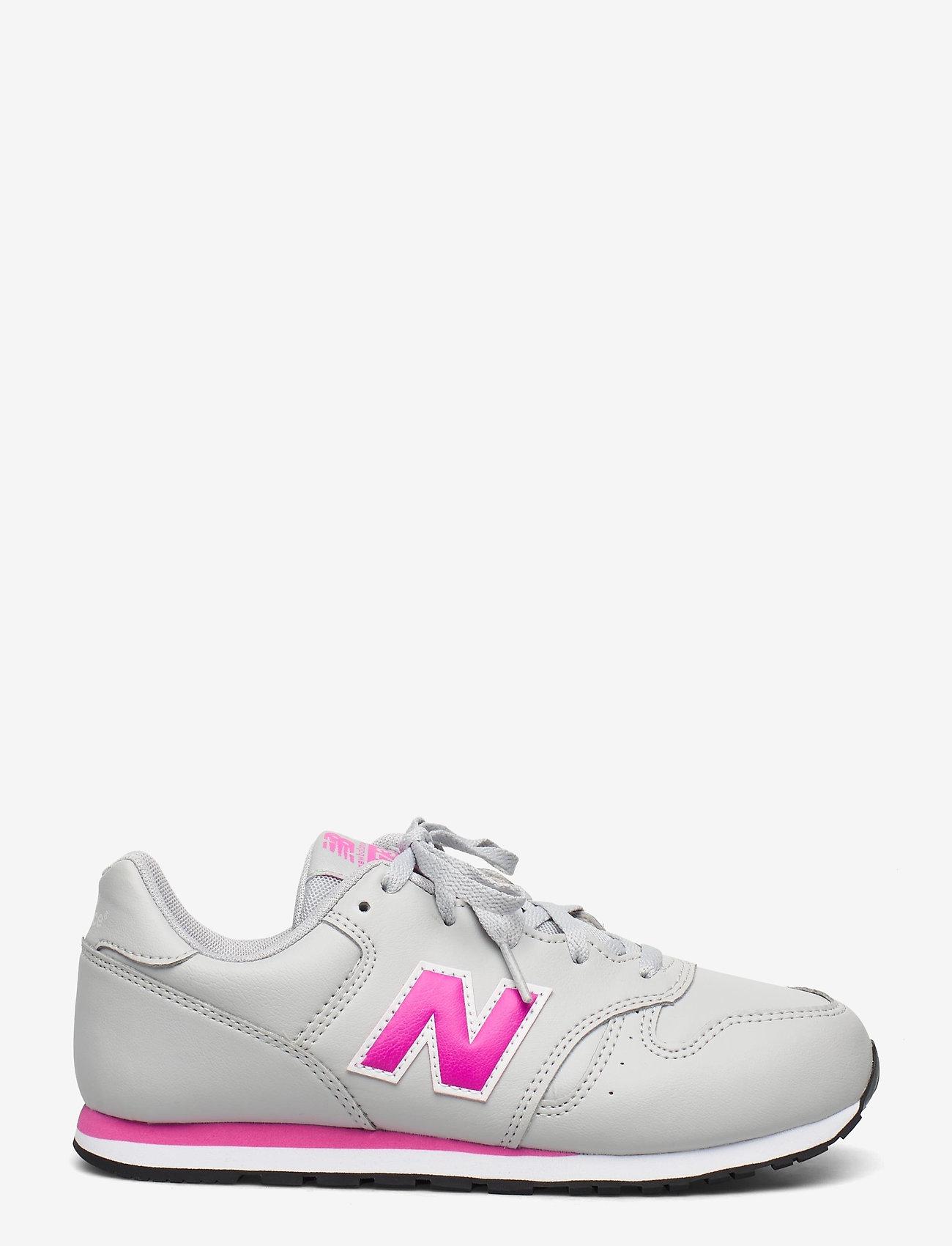 New Balance - YC373EGP - baskets basses - grey/pink - 1