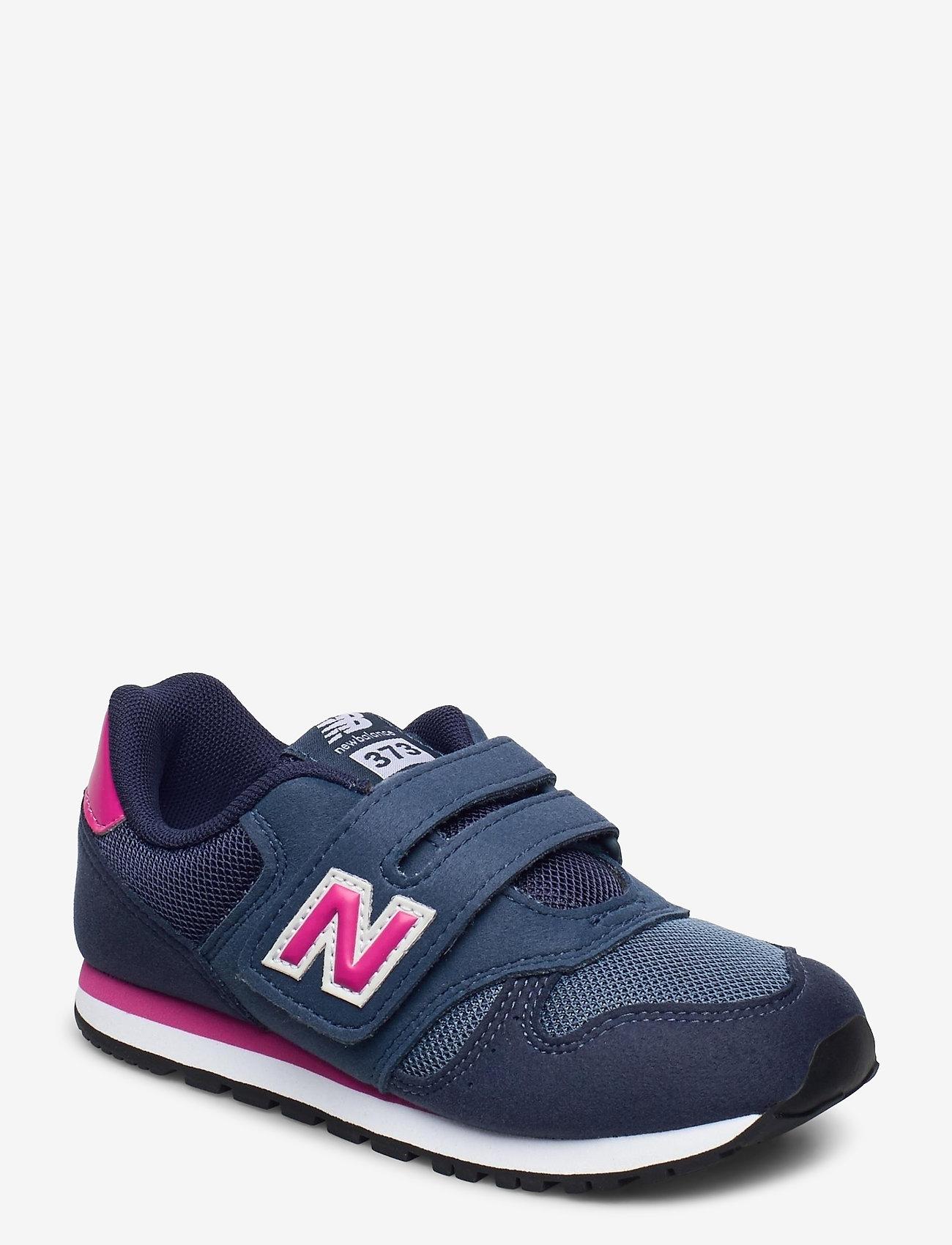 New Balance - YV373AB - baskets basses - navy/pink - 0