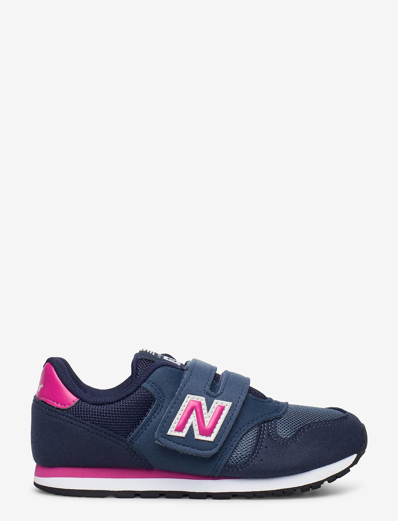 New Balance - YV373AB - baskets basses - navy/pink - 1