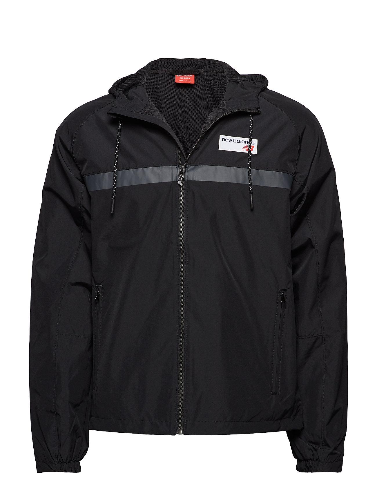 b18ce6529 Nb Athletics 78 Jacket (Black) (65 €) - New Balance - | Boozt.com