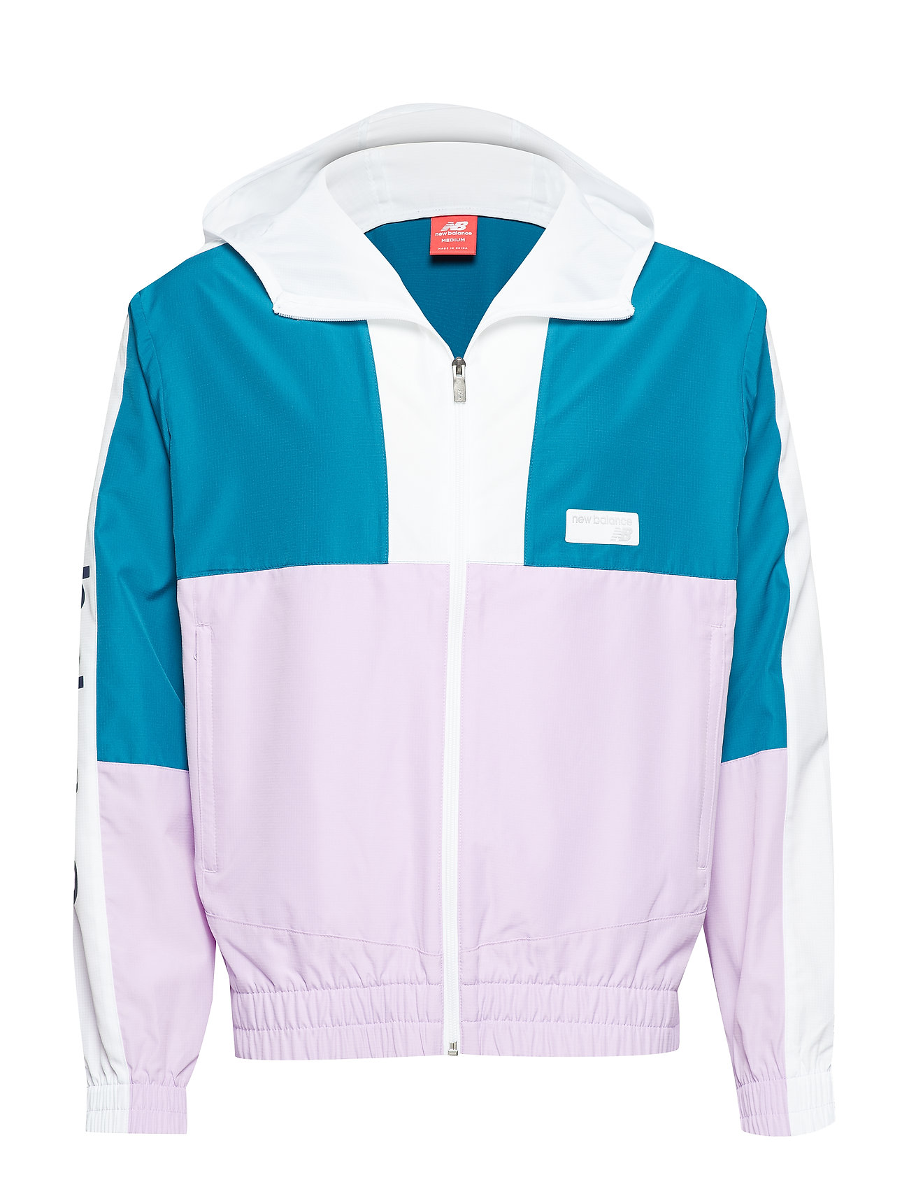 New Balance NB ATHLETICS WINDBREAKER - DKNEPTNE