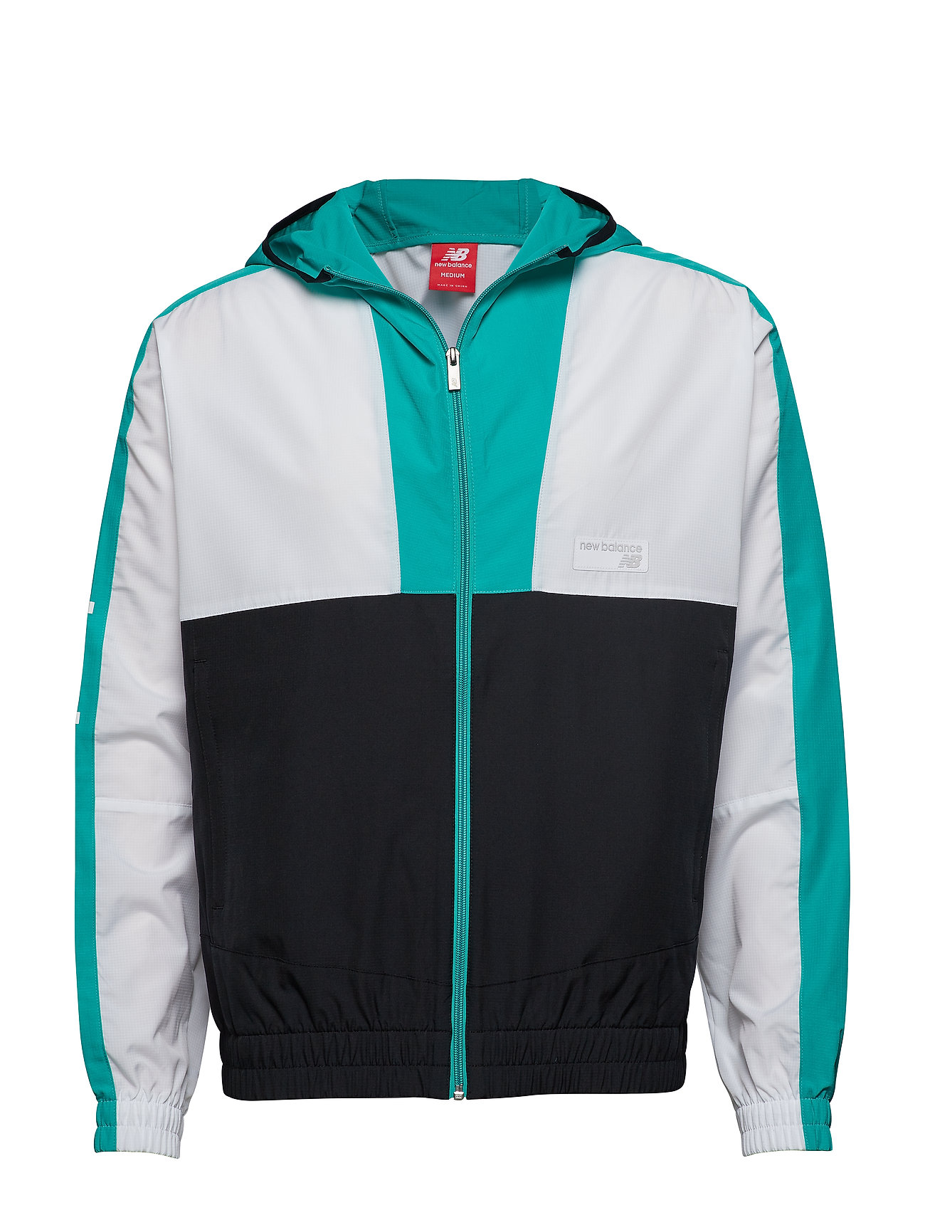 New Balance NB ATHLETICS WINDBREAKER - VERDITE