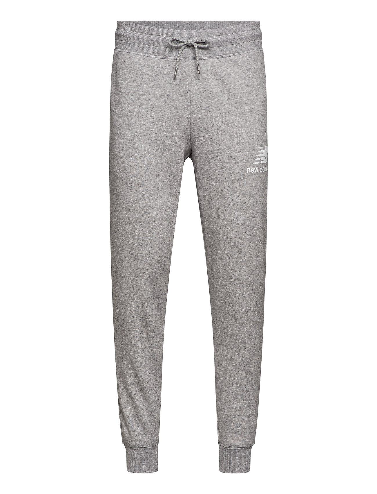 Image of Essentials Stacked Logo Sweatpant Sweatpants Hyggebukser Grå New Balance (3440208995)