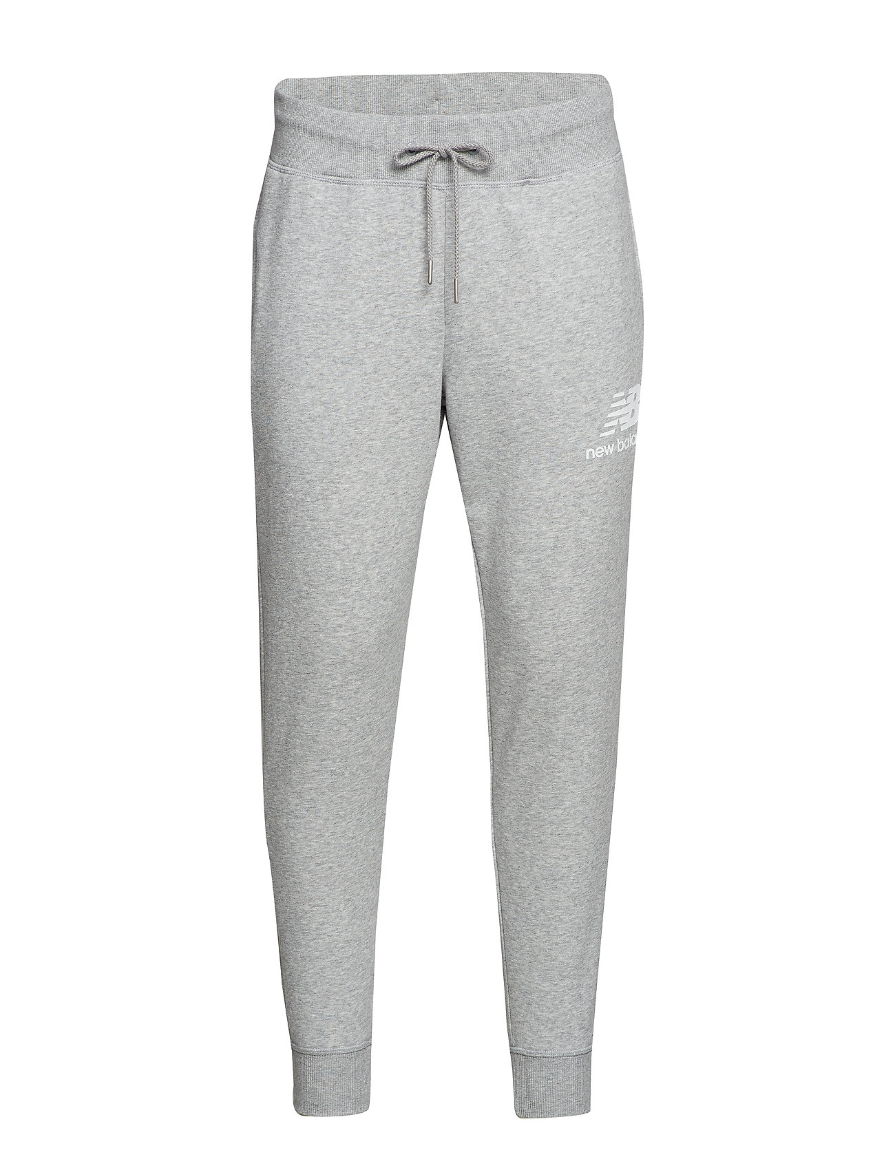 New Balance ESSENTIALS STACKED LOGO SWEATPANT - ATHLETIC GRE