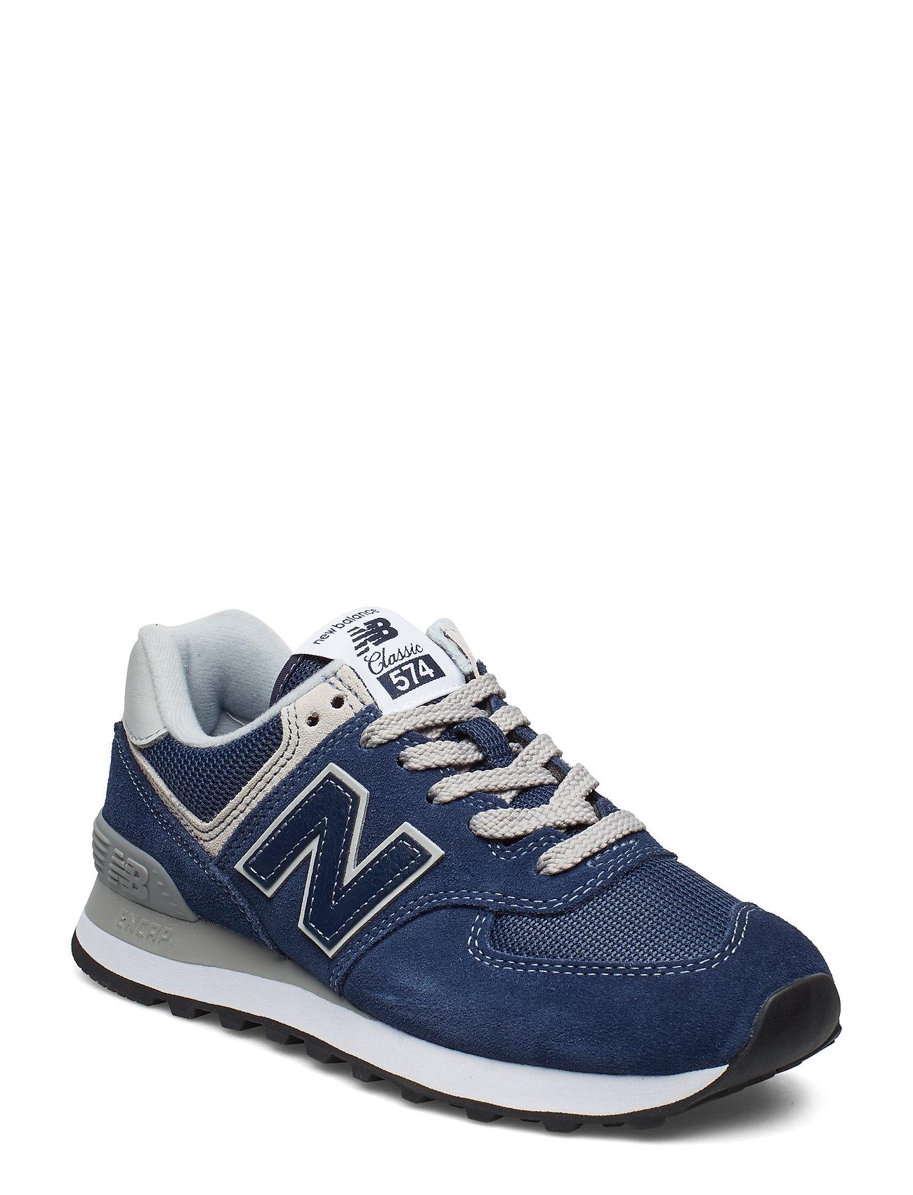 NEW BALANCE Wl574en Niedrige Sneaker Blau NEW BALANCE