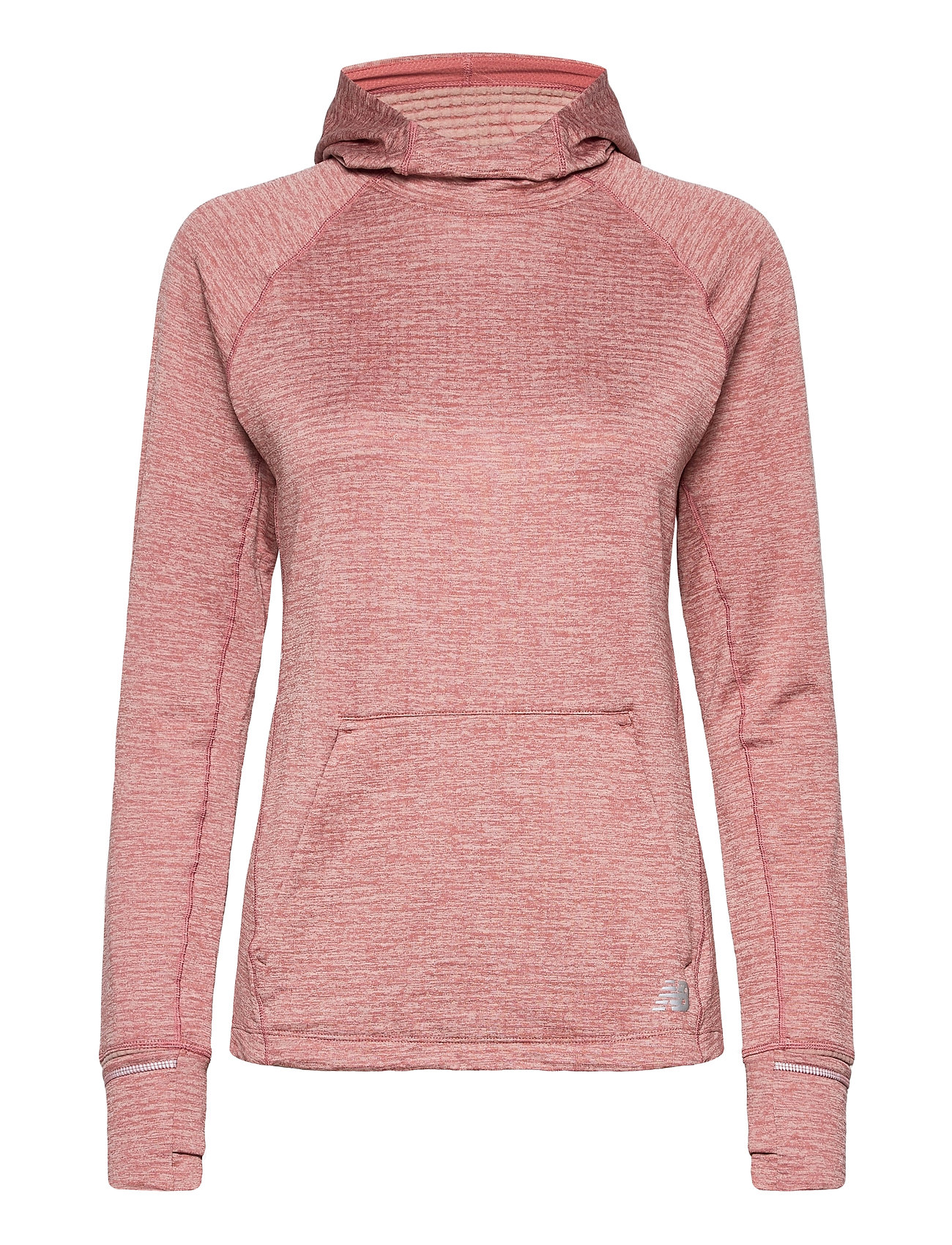 campo Novia Parásito  New Balance Nb Heat Grid Hoodie (Off Red Heather), (52 €)   Large selection  of outlet-styles   Booztlet.com