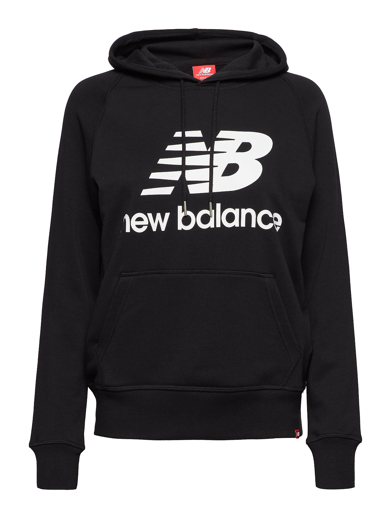 New Balance ESSENTIALS PULLOVER HOODIE - BLACK