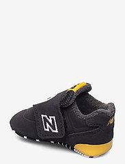 New Balance - CV574AQP - chaussons pour bébés - black/yellow - 2