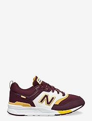 New Balance - GR997HVU - baskets basses - burgundy - 1