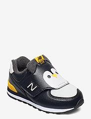 New Balance - IV574AQP - baskets basses - black/yellow - 0