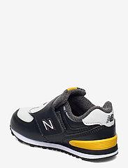 New Balance - IV574AQP - baskets basses - black/yellow - 2
