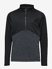 New Balance - NBST CORE JUNIOR KNIT DRILL TOP - sweats - black - 0