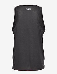 New Balance - PRINTED IMPACT RUN SINGLET - tank tops - bk/red - 1