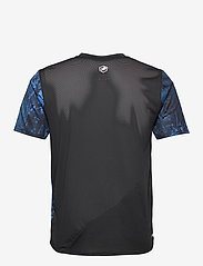 New Balance - Printed Fast Flight Short Sleeve - sportoberteile - black/cobalt blue - 1
