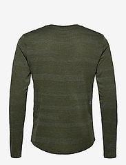 New Balance - Q SPEED FUEL JACQUARD LS - langarmshirts - oak green heather - 1