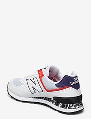 New Balance - WL574CS2 - low top sneakers - white - 2