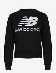New Balance - ESSENTIALS CREW - svetarit - black - 0