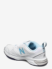 New Balance - WX624WB4 - lage sneakers - white/blue - 2