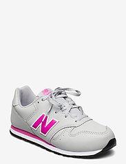 New Balance - YC373EGP - baskets basses - grey/pink - 0