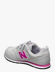 New Balance - YC373EGP - baskets basses - grey/pink - 2