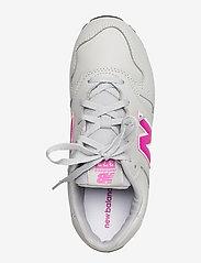 New Balance - YC373EGP - baskets basses - grey/pink - 3