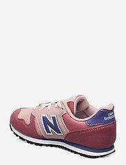 New Balance - YC373KPP - baskets basses - pink/grey - 2