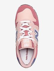 New Balance - YC373KPP - baskets basses - pink/grey - 3