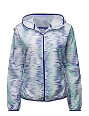 WINDCHEATER JACKET - SPECTRAL TECH PRINT