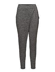 NOVELTY CROSSOVER SOFT PANT - HEATHER CHARCOAL