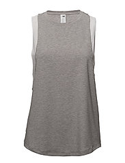 DETERMINATION TANK - ATLETIC GREY