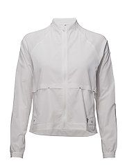 DETERMINATION BREATHE JACKET - WHITE