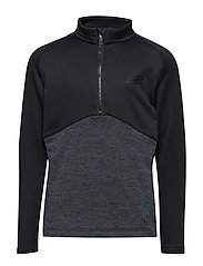 NBST CORE JUNIOR KNIT DRILL TOP - BLACK