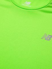 New Balance - Striped Accelerate Short Sleeve - sportoberteile - energy lime - 2