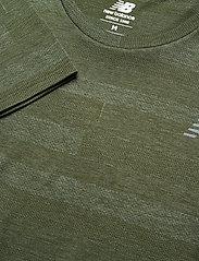New Balance - Q SPEED FUEL JACQUARD LS - langarmshirts - oak green heather - 2