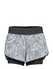 PRINTED IMPACT SHORT 4 IN - BLACK/WHITE