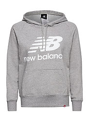 ESSENTIALS PULLOVER HOODIE - ATHLETIC GREY