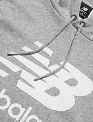 New Balance - ESSENTIALS PULLOVER HOODIE - hupparit - athletic grey - 2