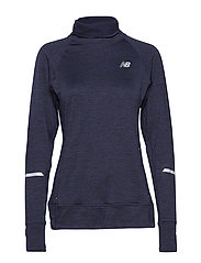 NB HEAT PULLOVER - PIGMENT HEATHER