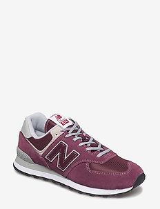 ML574 - lave sneakers - burgundy