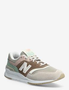 CW997HVD - lage sneakers - tan
