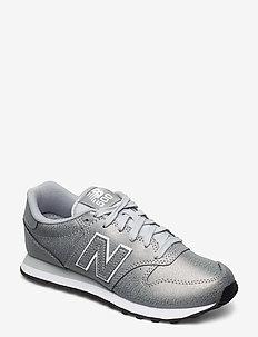 GW500MTA - sneakers med lav ankel - metallic silver