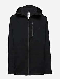 NBST JUNIOR FULL ZIP VECTOR SPEED TOP - BLACK