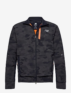 REFLECTIVE IMPACT RUN WINTER JACKET - training jackets - navy/reflect