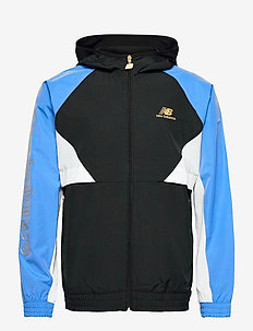 NB ATHLETICS PODIUM WINDBREAKER - sportsjakker - faded cobalt