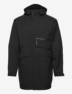 Sport Style Shell System Jacket - parkas - black